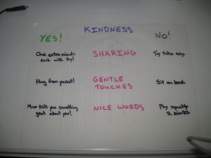Kindness Plan 300x225 Teaching Preschoolers Kindness