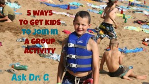5 ways to get kids to join in a group activity