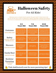 AskDoctorG.com Halloween Safety Printable