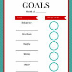 Setting Your Family Goals for 2016