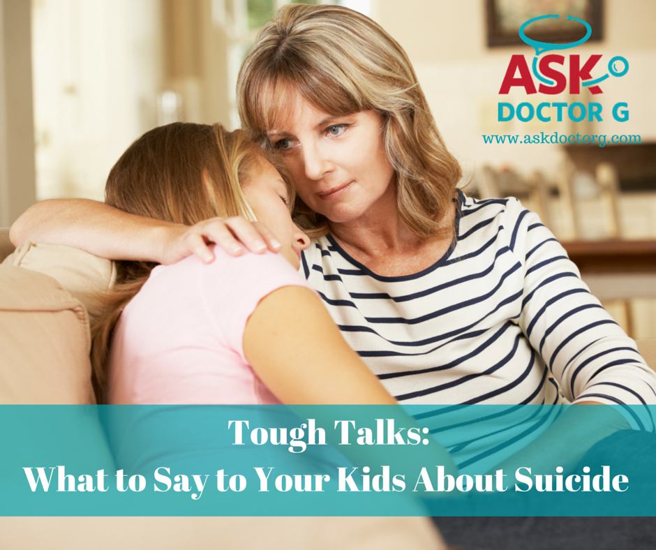 what to say to your kids about suicide