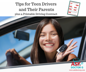 Tips for Teen Drivers and Their Parents (with a Free Printable Driving Contract)