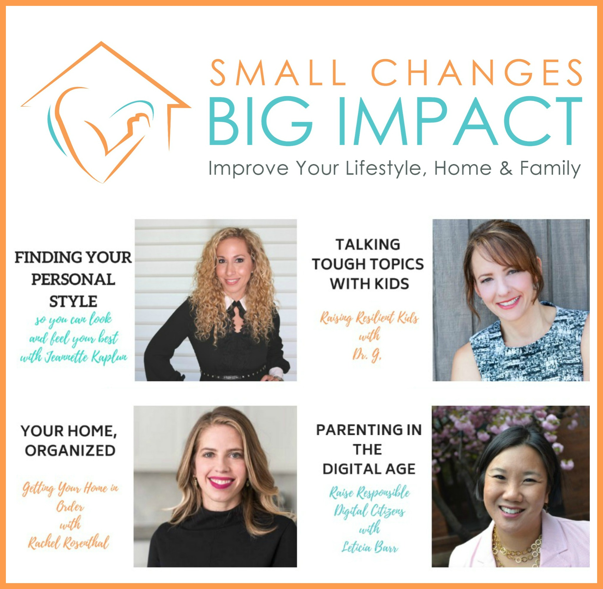 fa866ba1b0f Meet the experts whose courses are available through Small Changes, Big  Impact and learn how we can help you make the small changes needed to live  the life ...